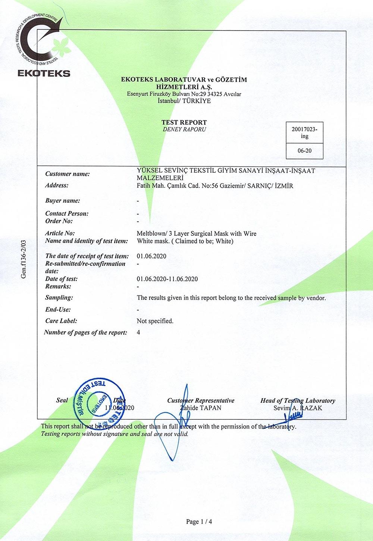 Certificate-Ekoteks-Test-Report-I-1