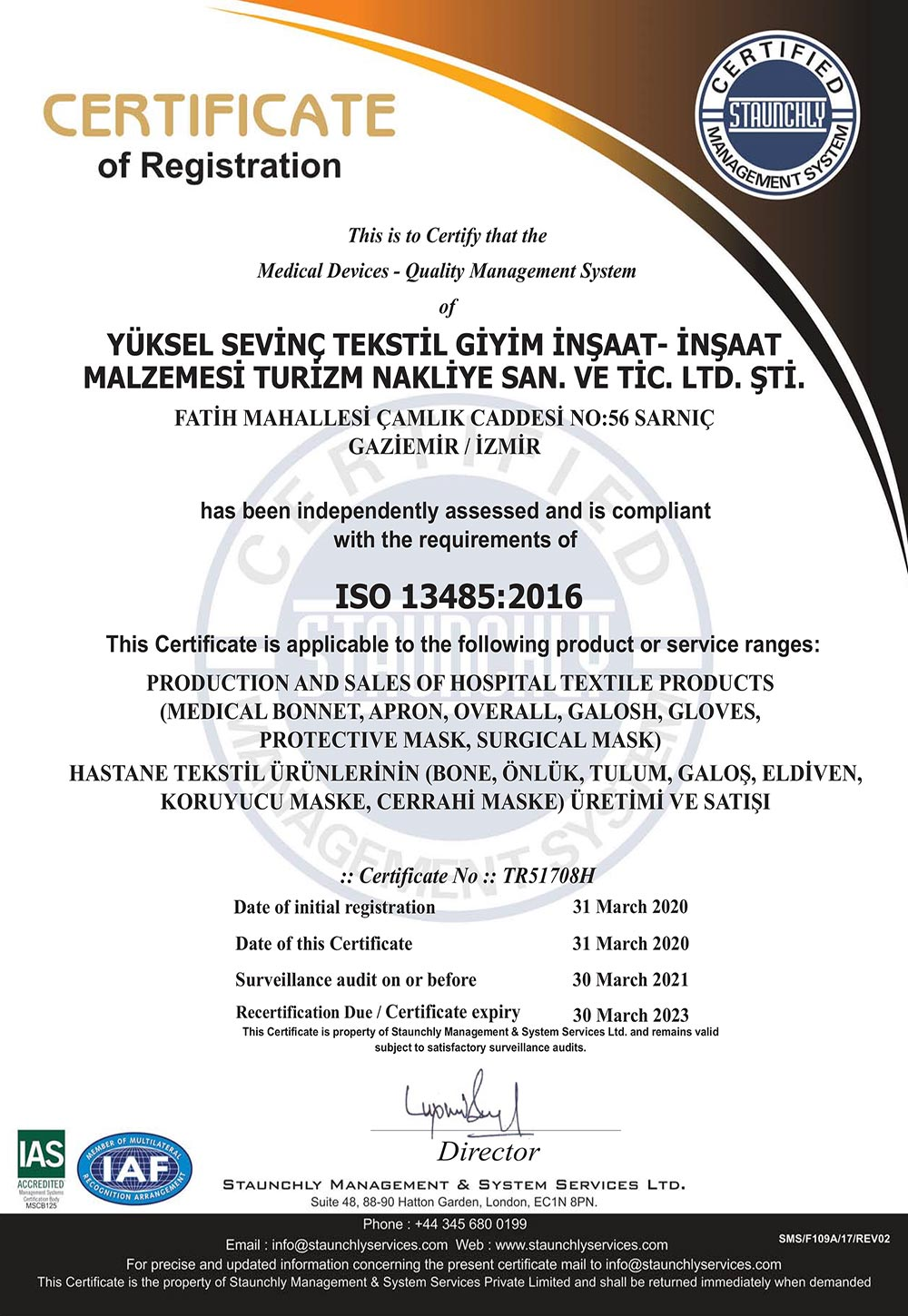 Certificate-Medical-Devices-Quality-Management-System